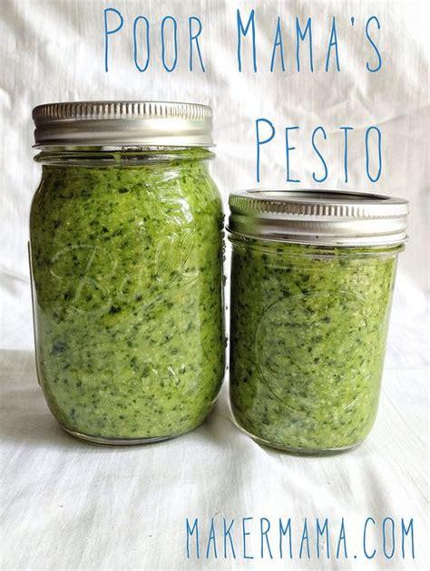 Pesto Recipe without Pine Nuts