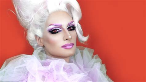 drag queen   pink fusion lotus inspired youtube