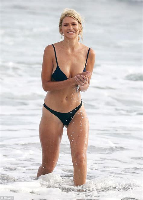megyn price swimsuit the bachelor s megan marx flaunts toned physique in bikini
