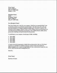 Material Handler Cover Letter Occupational examples