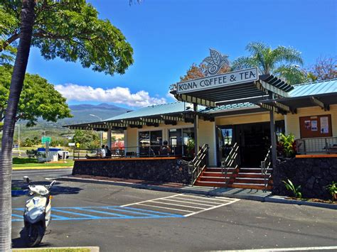 Gathering the best coffee beans from we're on a collaboration wave with the fine folks at thompson island brewing company. Kona Coffee and Tea expands with second location