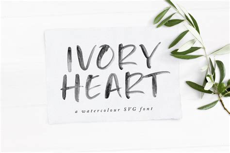 Mad faith ~ brush font 2337399. Ivory Heart SVG.jpg   Brush font, Heart font, Free svg fonts