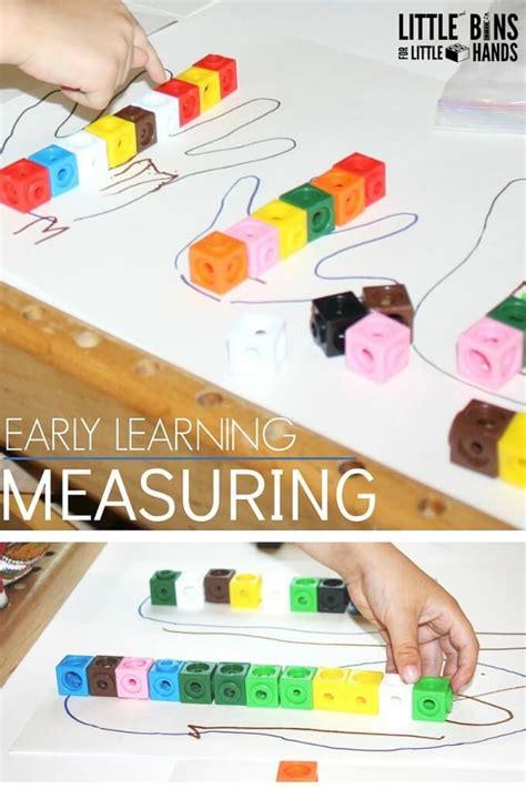 preschool math measuring activity using and 146 | Preschool Math Measuring Activity Using Unifix Cubes DUPLO or LEGO 680x1020