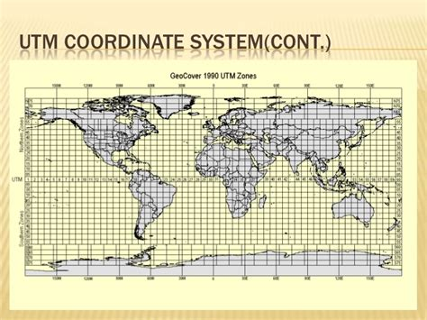 geographic coordinate system map projection