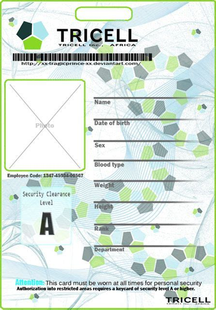 paper id template 113 best id card templates images on card patterns card templates and paper