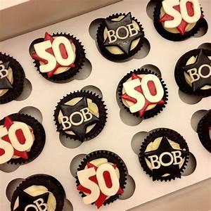 50th Birthday Cupcakes   Anniversary Parties / Birthday ...