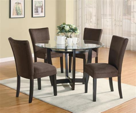 furniture dining room sets stylish 5 pc dinette dining table parsons dining room