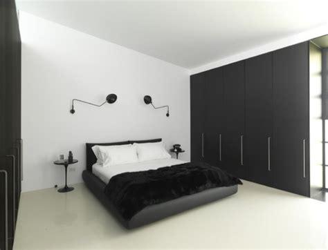 chambre noir et or des chambres minimalistes noir et blanc bricobistro