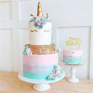 Gold Sequin Unicorn The Home Bakery