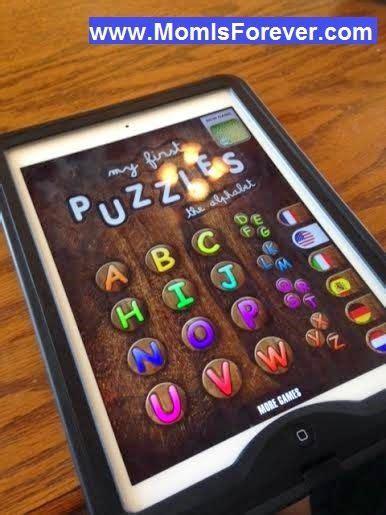 ipad app review   puzzles  alphabet