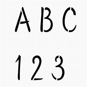 alphabet stencil and numbers 2 inch tall letters stencil With 2 inch letters and numbers