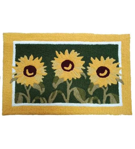 sunflower kitchen mat washable kitchen rugs and kitchen mats 2611