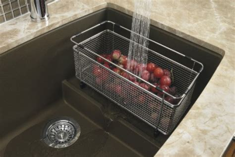 The Sink Colander Stainless Steel by Colanders Are The Addition To Any Kitchen Sink