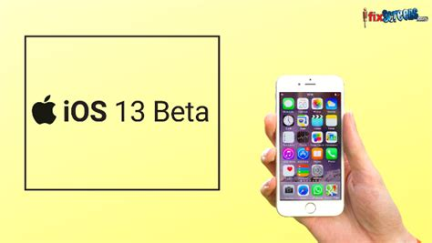 ios 13 release date beta and key features ifixscreens