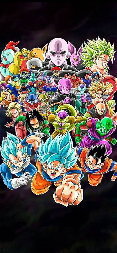 Dragon Ball Iphone Wallpapers Aesthetic Dbz Characters
