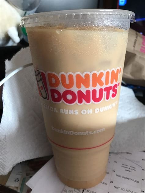 Lately i've just been drinking unsweetened coffee at home, i have a really hard time with artificial sweeteners. Large iced coffee french vanilla swirl - Yelp