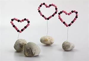 Herz Aus Zweigen Basteln : deko herz aus perlen basteln pinterest besser basteln liebe mama und muttertag ~ Markanthonyermac.com Haus und Dekorationen