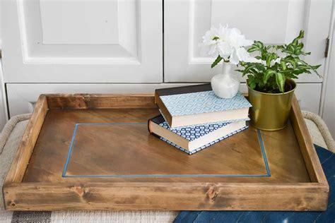 epoxy inlay wooden tray  charlottes house