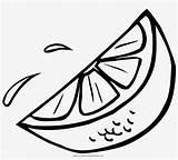 Lime Coloring Slice Orange Drawing Line Seekpng sketch template
