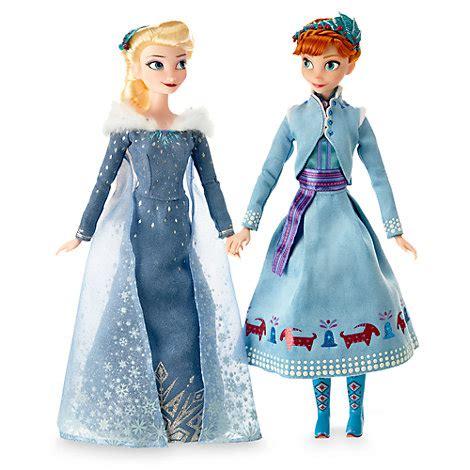 und elsa le and elsa doll set olaf s frozen adventure