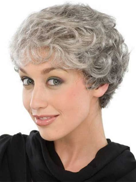 Pixie Hairstyles For Grey Hair by 15 Hairstyles For Grey Hair Hair Styles
