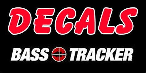 Bass Tracker Boat Graphics by Bass Tracker Boat Decals