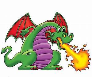 Dragon Breathing Fire Clipart | Clipart Panda - Free ...