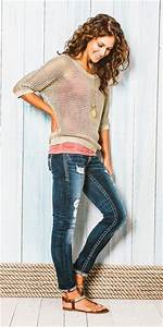 Style Fascinations Cute Casual Outfits Jeans And Lace Top