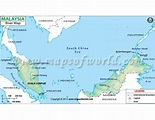 Buy Malaysia River Map