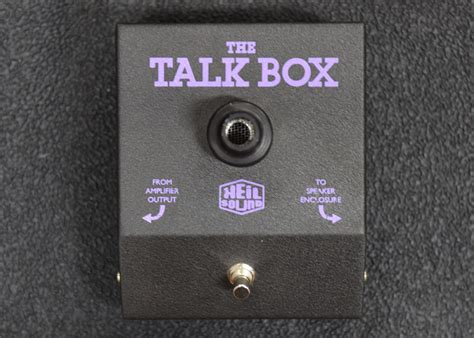 heil sound talk box daves guitar shop