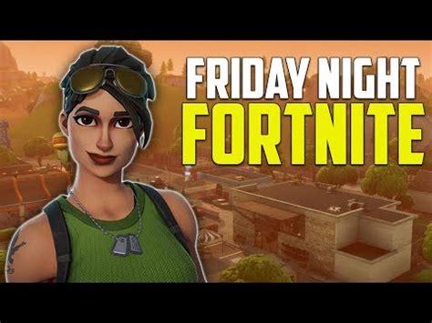 friday night fortnite lets   wins fortnite battle