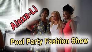 Alexa-Li Pool Party Fashion Show at Capitol Skyline Hotel ...