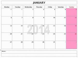 monthly calendar template 2014 great printable calendars With 3 month calendar template 2014