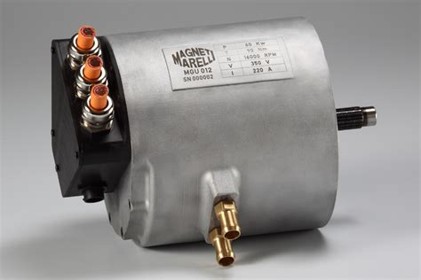 Electric Motor And Generator by Electric Motor Generator Magneti Marelli