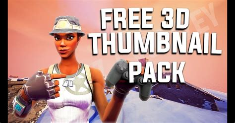Fortnite 3d Thumbnails Free To Use | Fortnite Account ...