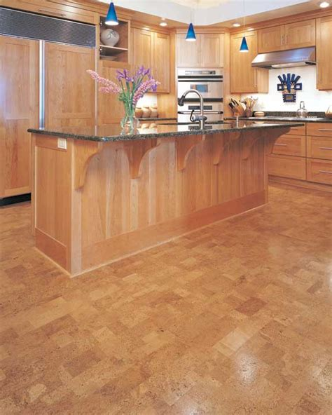 cork floors kitchen the options of best floors for kitchens homesfeed 2598
