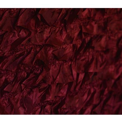 burgundy ruffle fabric backdrop backdrop express