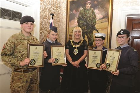 rotherham cadets  flying high