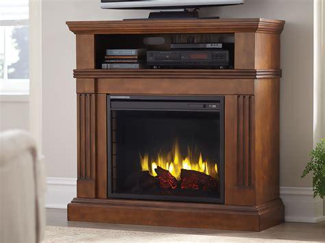 dorsett wallcorner electric fireplace media cabinet