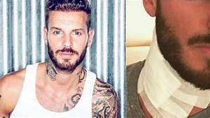 Tatouage Cou Homme : matt pokora retire un tatouage et met ses fans en garde ~ Nature-et-papiers.com Idées de Décoration