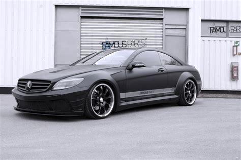 Mercedesbenz Cl 500 Black Matte Edition By Famous Parts
