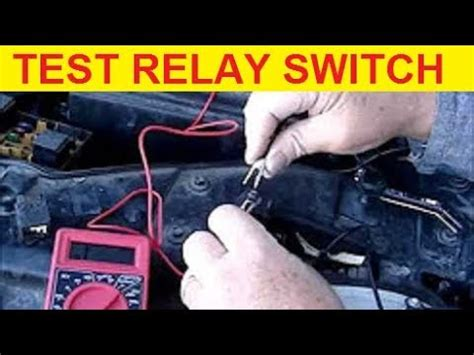 How Test Ford Taurus Fuel Pump Relay Switch Youtube