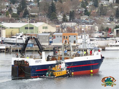 Legacy Fishing Boat Alaska by United States Seafoods Bering Sea Ak Commercial Fishing