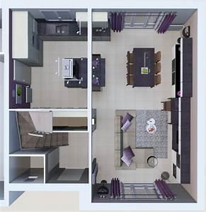 Deco cuisine salon sejour for Deco cuisine pour meuble de sejour