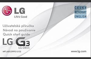 Lg G3 D855 User Manual    Guide  Uk English