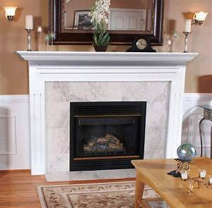Tile fireplace hearth ideas home fireplaces firepits for Fireplace surround ideas with tile