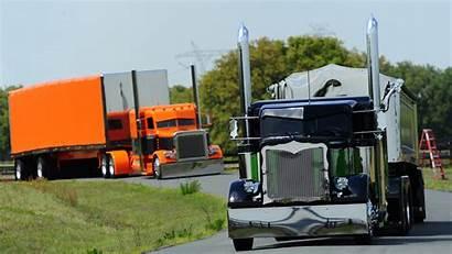 Peterbilt Tractor Trailer Custom Semi Rigs Trailers