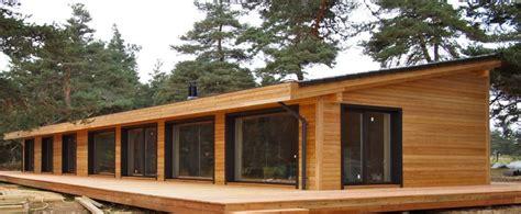 maison moderne en bois massif chaios