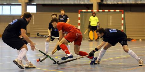 hockey en salle le racing prend les commandes la libre be
