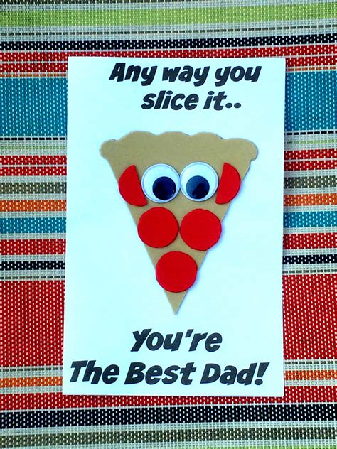 fathers day pizza craft sea  knowledge